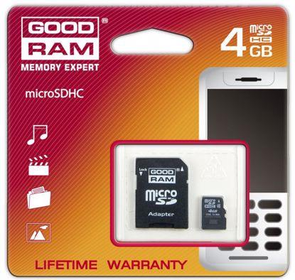 Obrazek Goodram micro SDHC 48GB C4